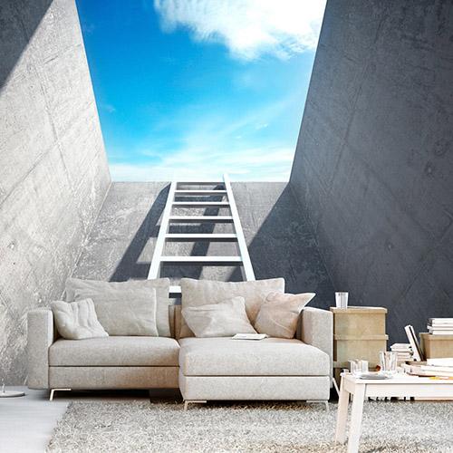 Visuelle Vergrößerung der Interieur