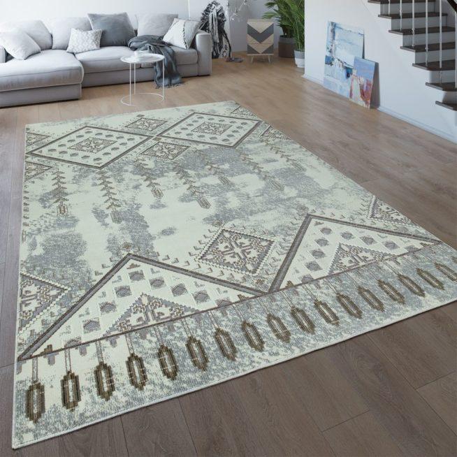 Teppich Ethno Design 3 D Look Wohnzimmer Mirai Trading Gmbh
